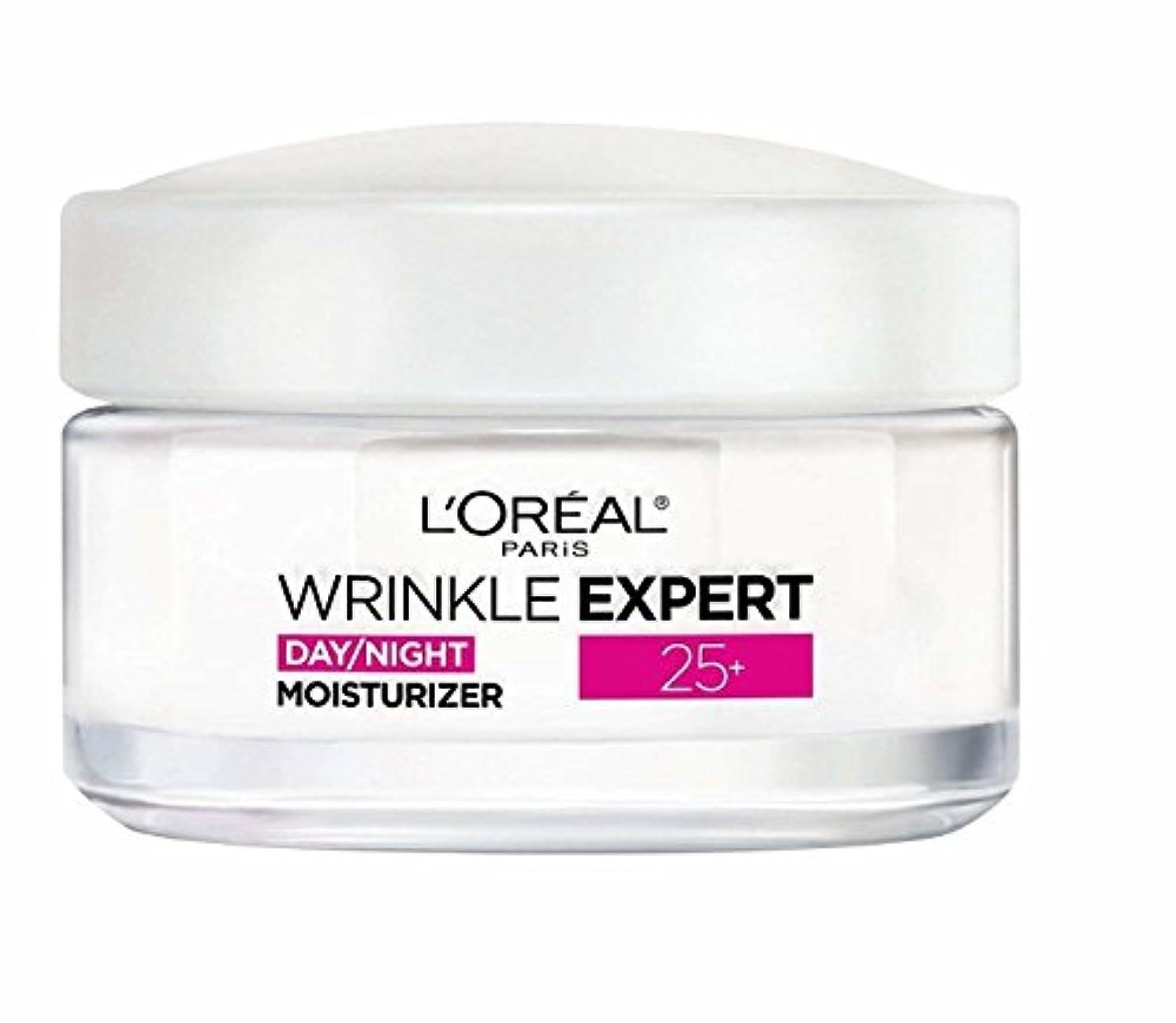 軍スケッチ止まるロレアル Wrinkle Expert 25+ Day/Night Moisturizer 50ml/1.7oz並行輸入品