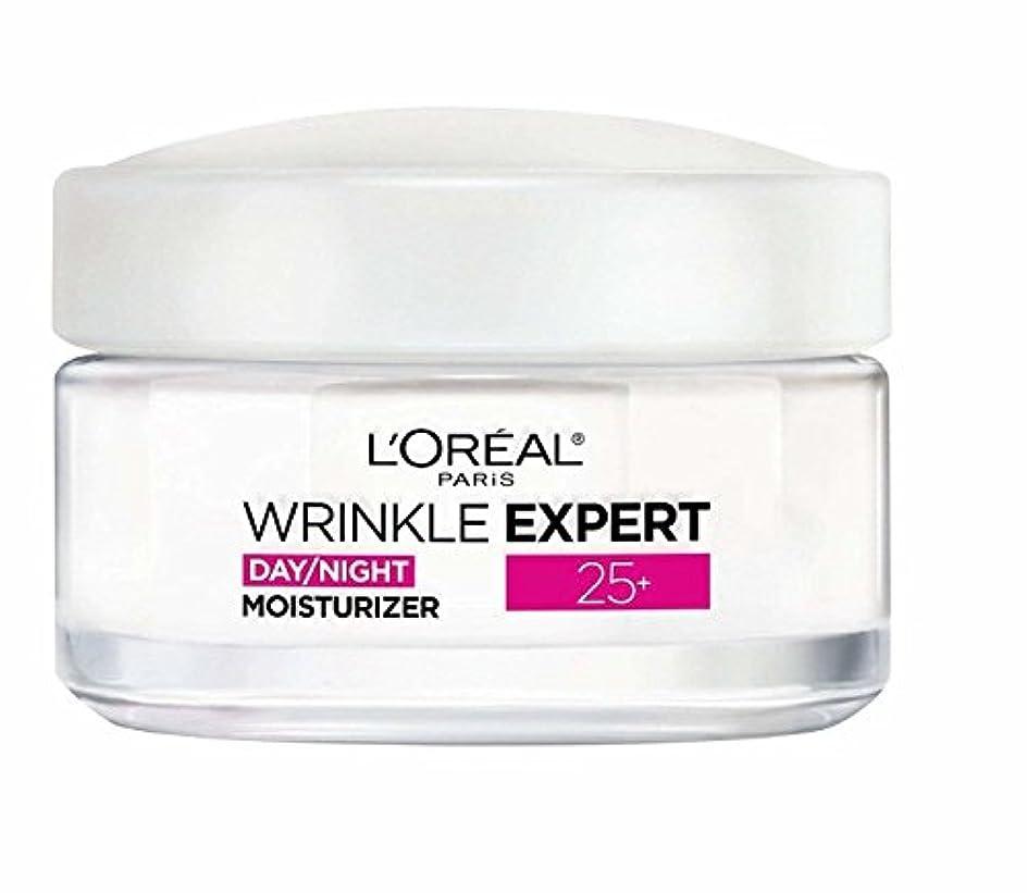 ブランク不要補助ロレアル Wrinkle Expert 25+ Day/Night Moisturizer 50ml/1.7oz並行輸入品