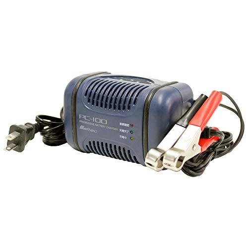 メルテック バッテリー充電器(自動2輪車~軽自動車) DC1...