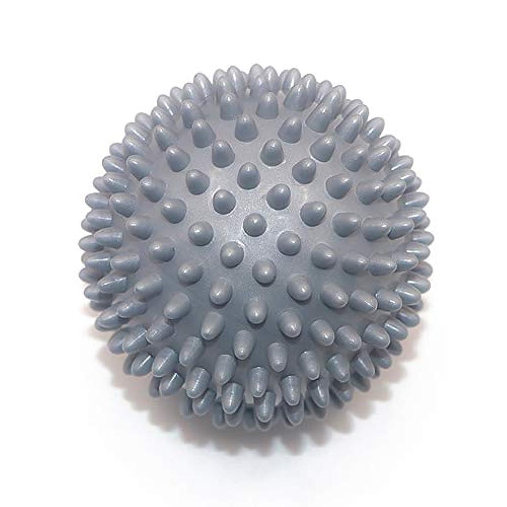 比喩セミナー眠いですLiti マッサージボール リハビリ 触覚ボール リフレクションボール 筋膜リリース リハビリ マッサージ用 グレー