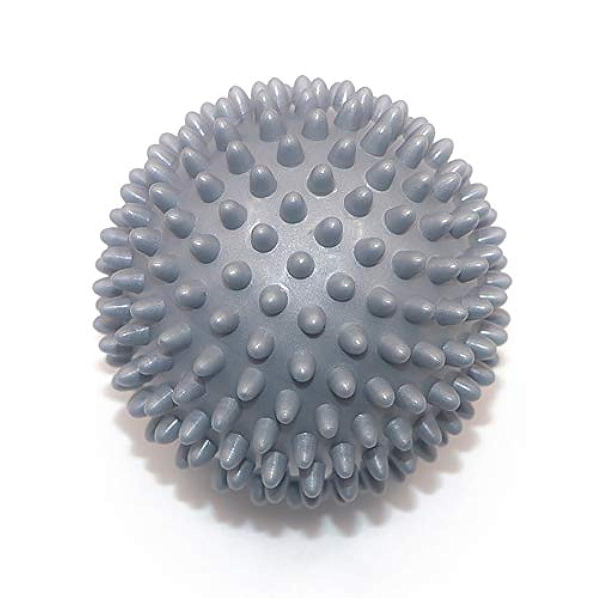 倫理フラフープ快適Liti マッサージボール リハビリ 触覚ボール リフレクションボール 筋膜リリース リハビリ マッサージ用 グレー