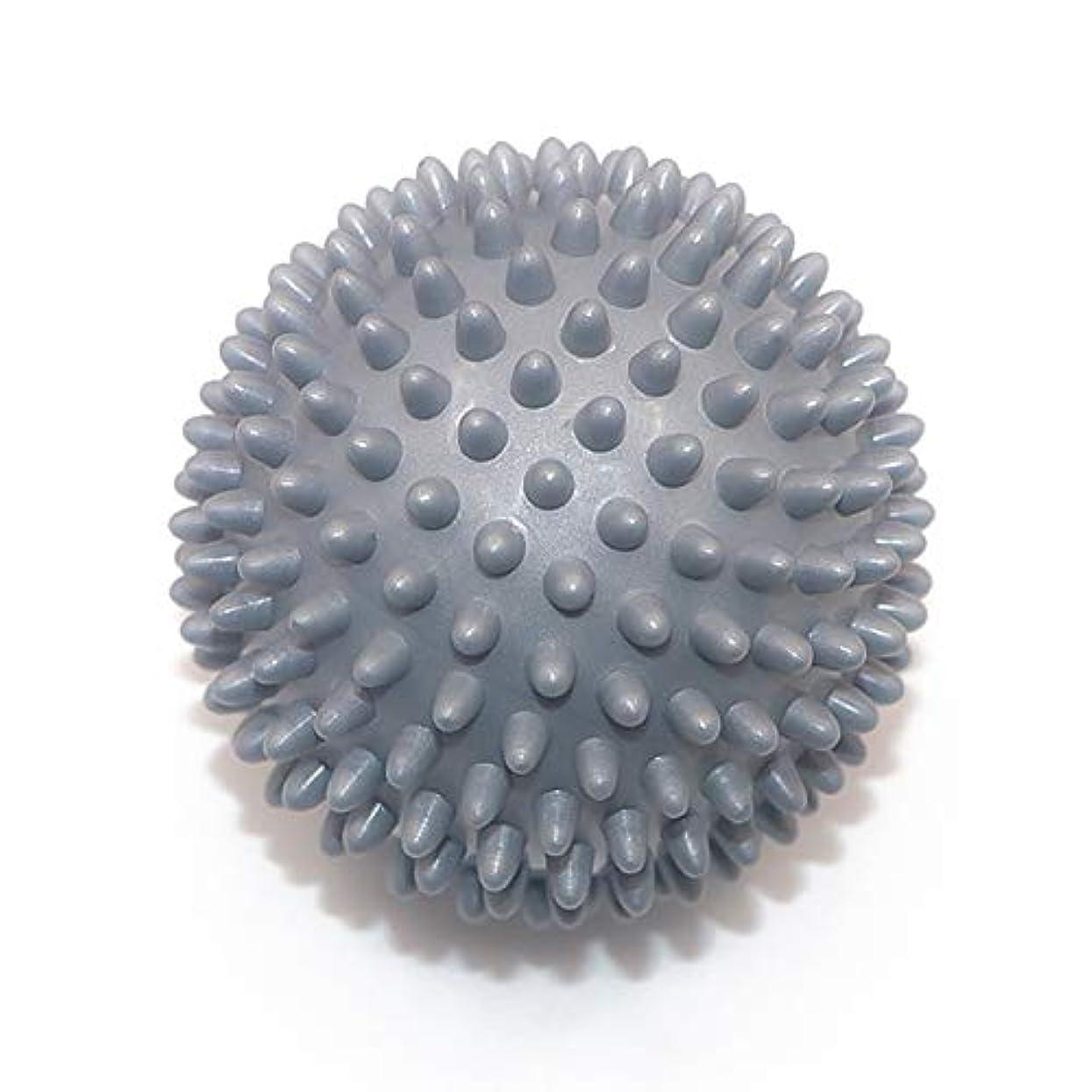 性差別活性化する縮約Liti マッサージボール リハビリ 触覚ボール リフレクションボール 筋膜リリース リハビリ マッサージ用 グレー