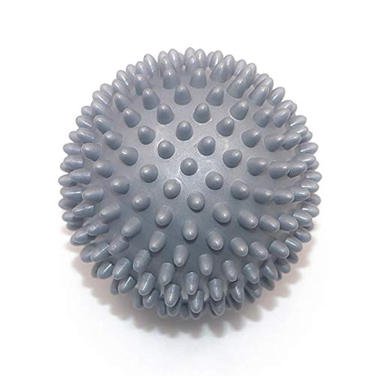 非効率的な満了楽しむLiti マッサージボール リハビリ 触覚ボール リフレクションボール 筋膜リリース リハビリ マッサージ用 グレー