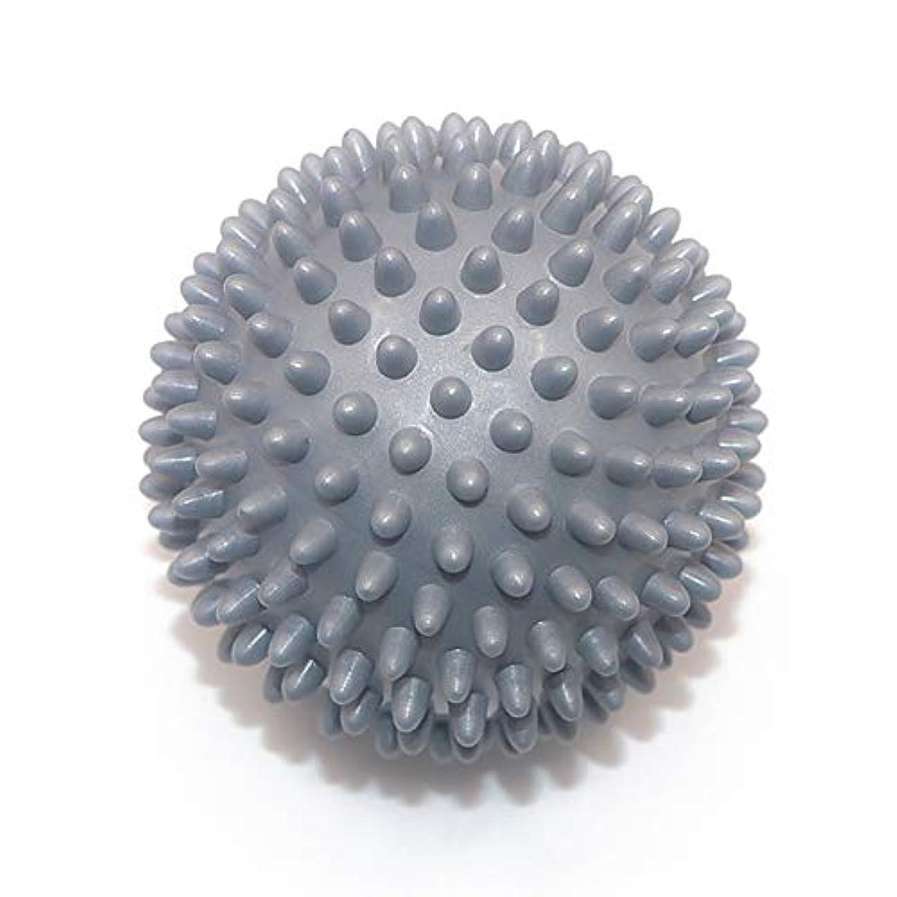 タブレットライン彼はLiti マッサージボール リハビリ 触覚ボール リフレクションボール 筋膜リリース リハビリ マッサージ用 グレー
