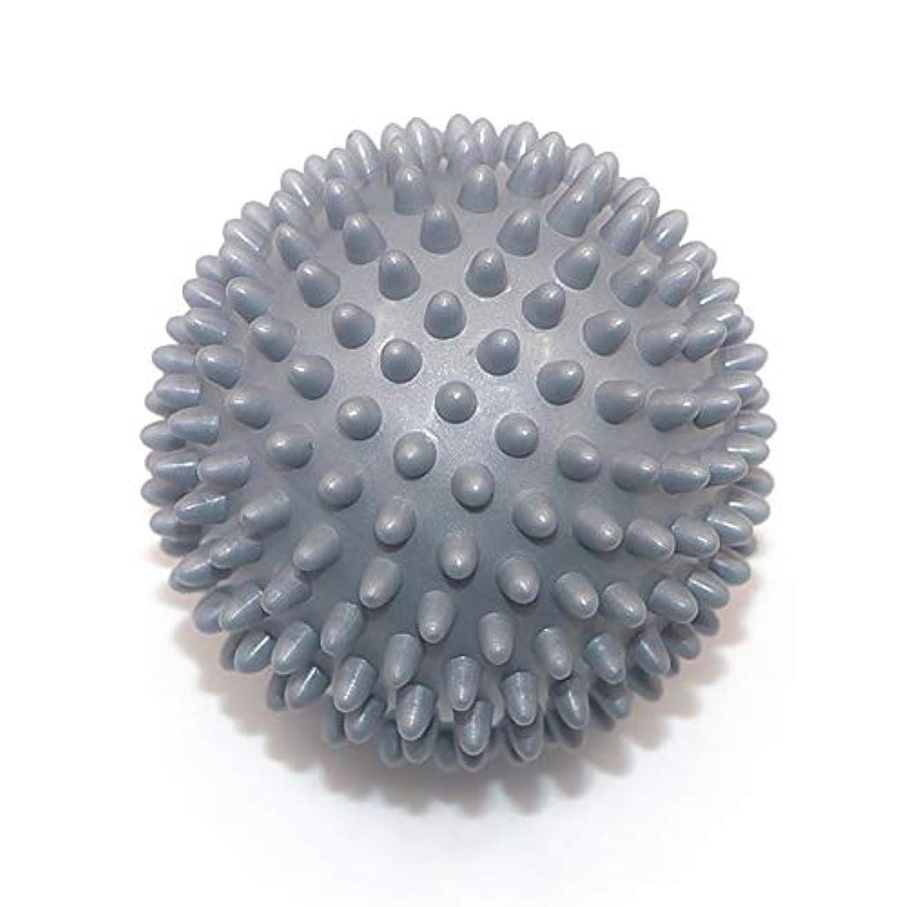 長さ発動機モンスターLiti マッサージボール リハビリ 触覚ボール リフレクションボール 筋膜リリース リハビリ マッサージ用 グレー