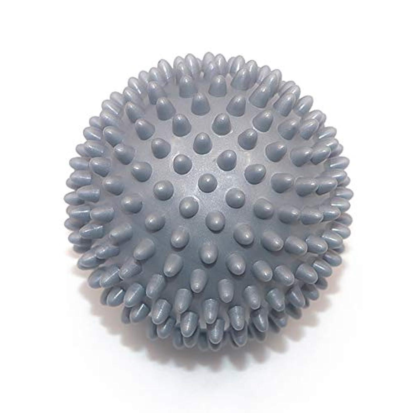 イブニング活性化最小化するLiti マッサージボール リハビリ 触覚ボール リフレクションボール 筋膜リリース リハビリ マッサージ用 グレー