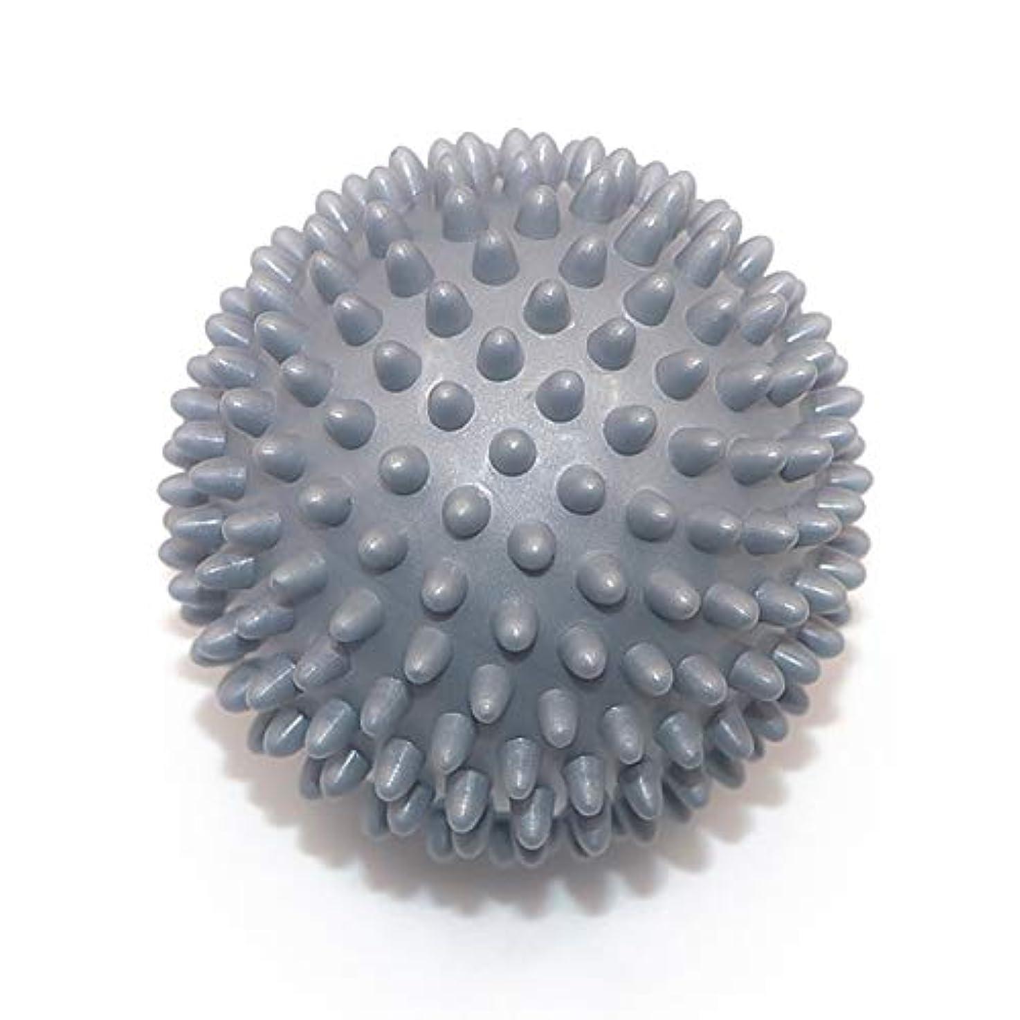 山いつも権限を与えるLiti マッサージボール リハビリ 触覚ボール リフレクションボール 筋膜リリース リハビリ マッサージ用 グレー