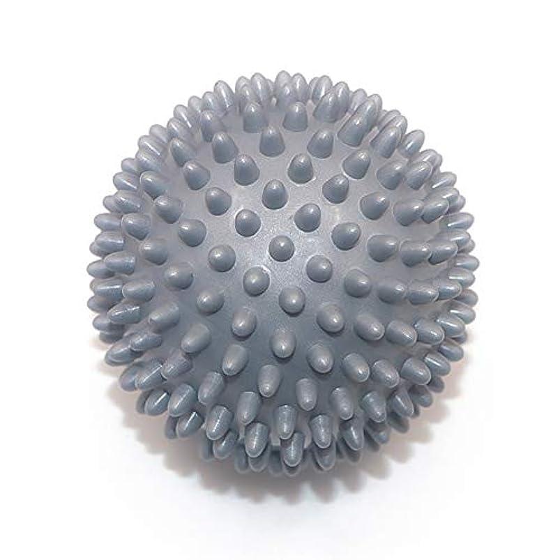 ヒューズ体名前を作るLiti マッサージボール リハビリ 触覚ボール リフレクションボール 筋膜リリース リハビリ マッサージ用 グレー