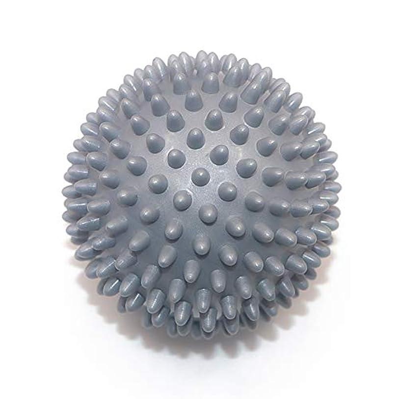 スリチンモイバルコニー上に築きますLiti マッサージボール リハビリ 触覚ボール リフレクションボール 筋膜リリース リハビリ マッサージ用 グレー