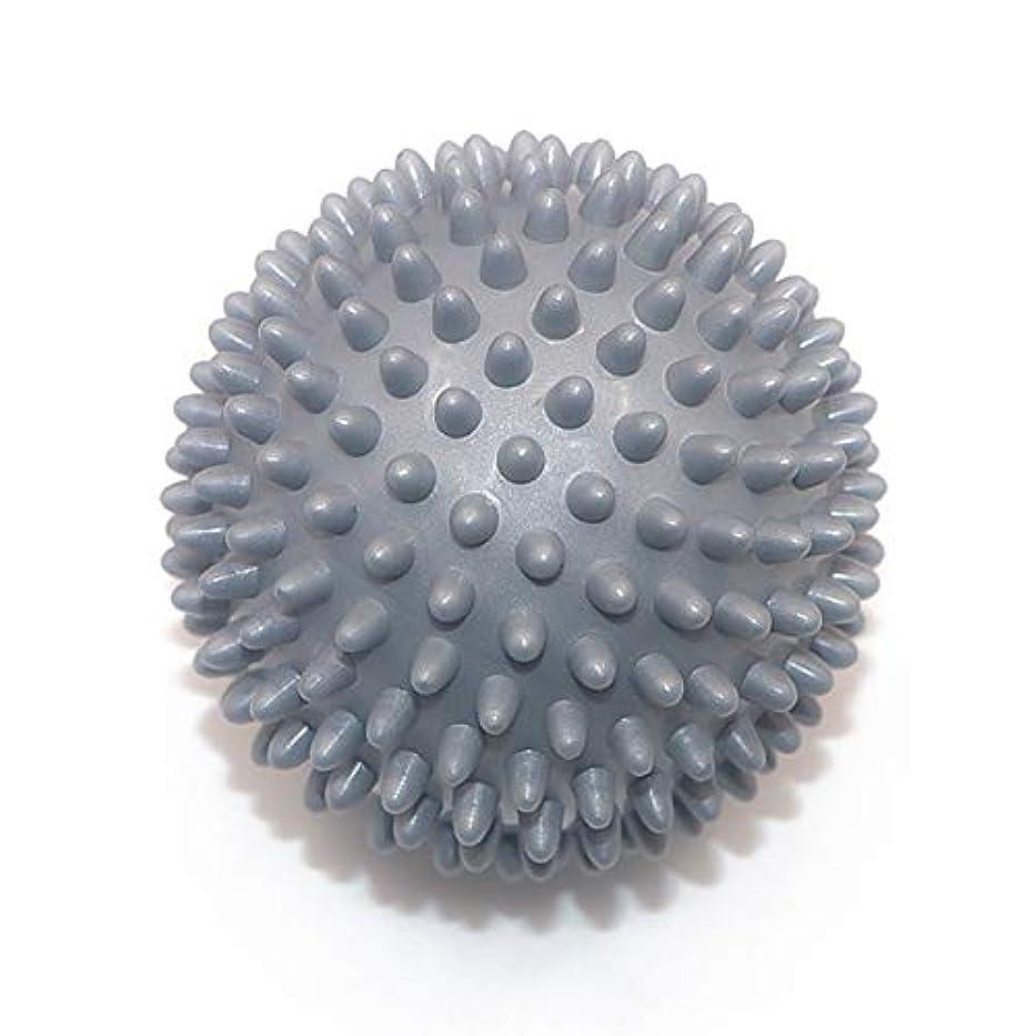 意味わな犯すLiti マッサージボール リハビリ 触覚ボール リフレクションボール 筋膜リリース リハビリ マッサージ用 グレー