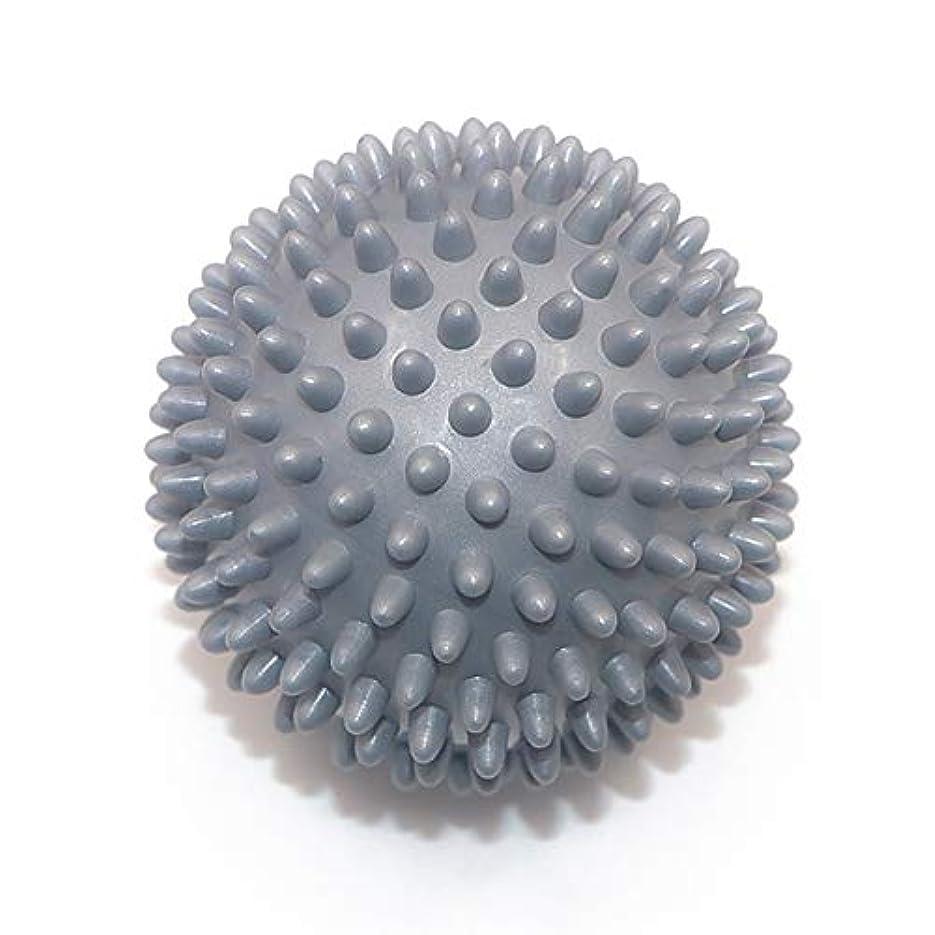 キネマティクス着飾るマインドLiti マッサージボール リハビリ 触覚ボール リフレクションボール 筋膜リリース リハビリ マッサージ用 グレー