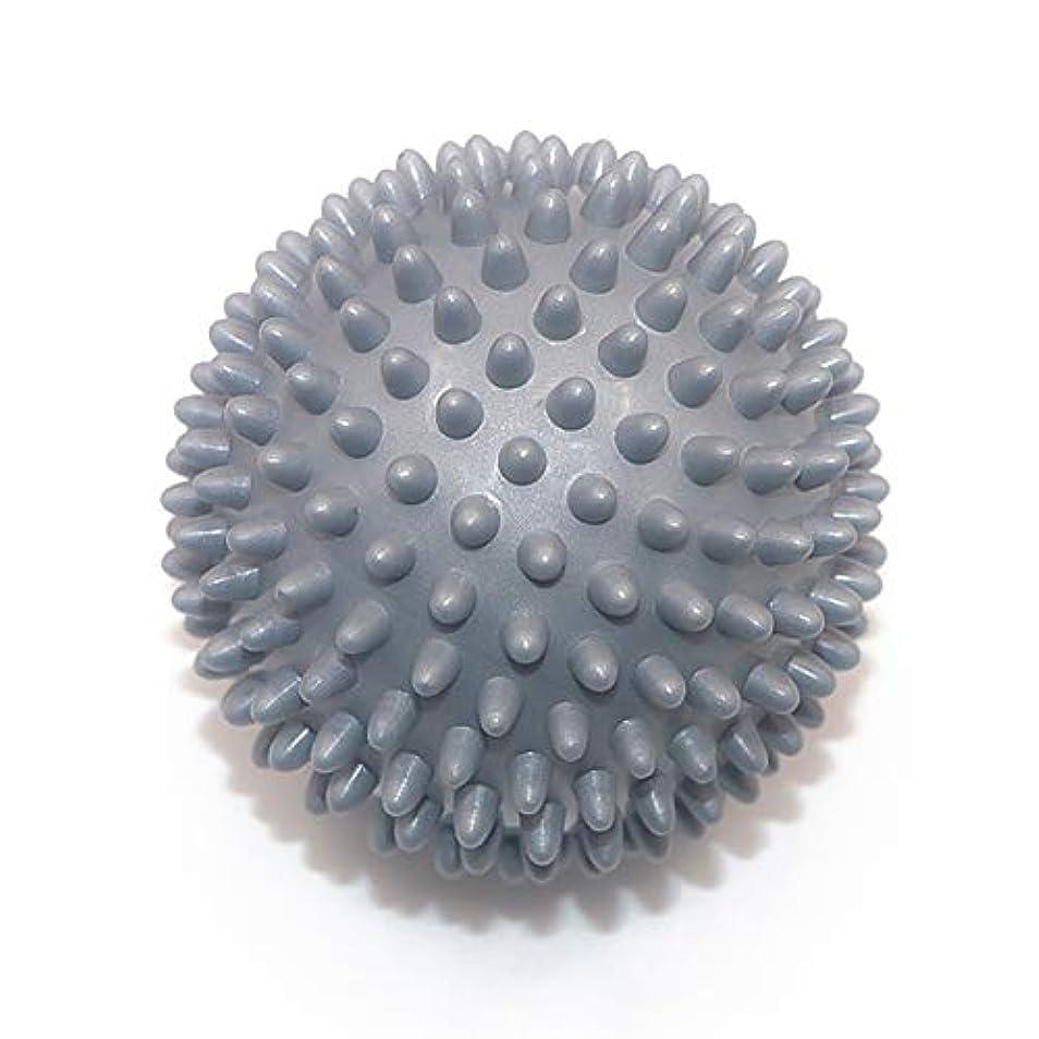 キャンセル輸送気性Liti マッサージボール リハビリ 触覚ボール リフレクションボール 筋膜リリース リハビリ マッサージ用 グレー