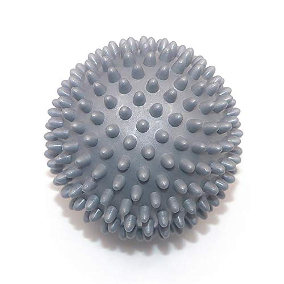 不利益円形海外でLiti マッサージボール リハビリ 触覚ボール リフレクションボール 筋膜リリース リハビリ マッサージ用 グレー