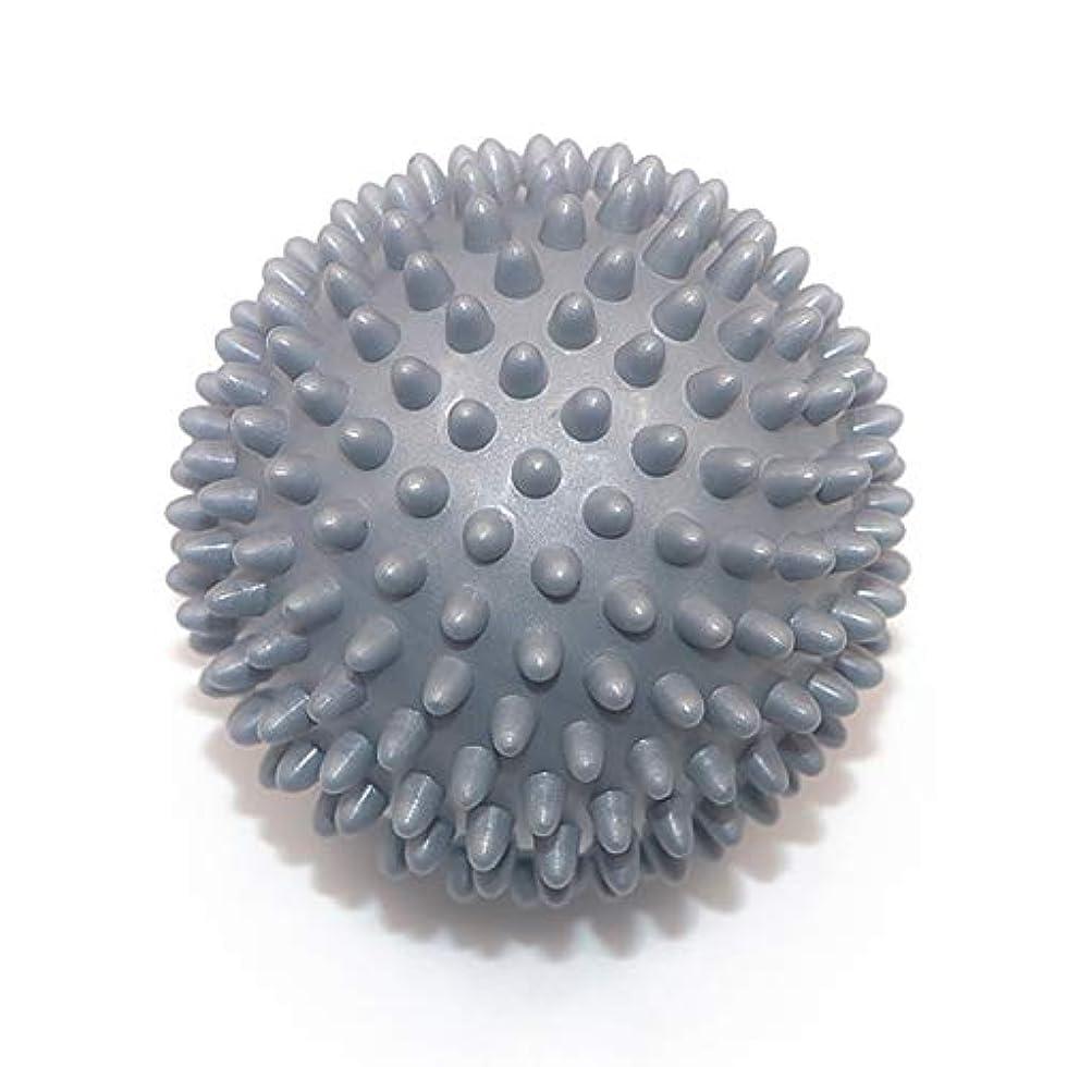ヘビーキロメートル流体Liti マッサージボール リハビリ 触覚ボール リフレクションボール 筋膜リリース リハビリ マッサージ用 グレー