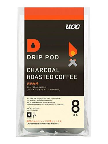 UCC ドリップポッド 炭焼珈琲 コーヒー 8個