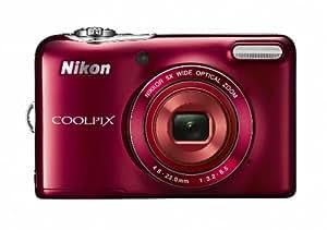 Nikon デジタルカメラ COOLPIX L30 5倍ズーム 2005万画素 乾電池タイプ レッド L30RD