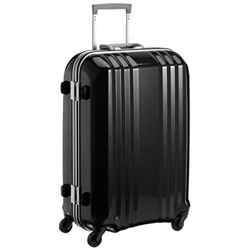 [エー・エル・アイ] A.L.I スーツケース デカかる2 /63cm 49L 3.7Kg シリアルナンバー管理 TSAロック付 MM-5288 BK (ブラック)