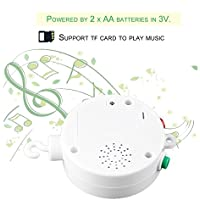 baynne新しいユニークなデザインベビーベッドモバイルBedベルトイWind - Up音楽ボックス