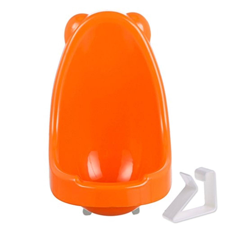 オレンジかわいい子Pottyトイレトレーニング小便器子供for Boys Peeトレーナーバスルーム