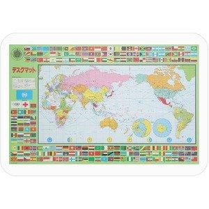 ミワックス 学習マット 世界・日本