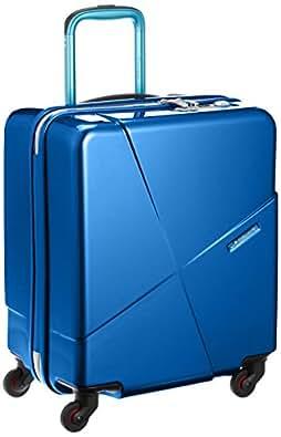 [ヒデオワカマツ] スーツケース マックスキャビン2 ポリカーボネート100% 容量42L 縦サイズ50cm 重量3kg 85-76172 2 ブルー ブルー
