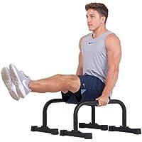 活用Fitness Parallettes with 2セットの統合ローレットグリップオプション12 x 24 – Supports強度HIITヨガRom体操Conditioning練習Workouts