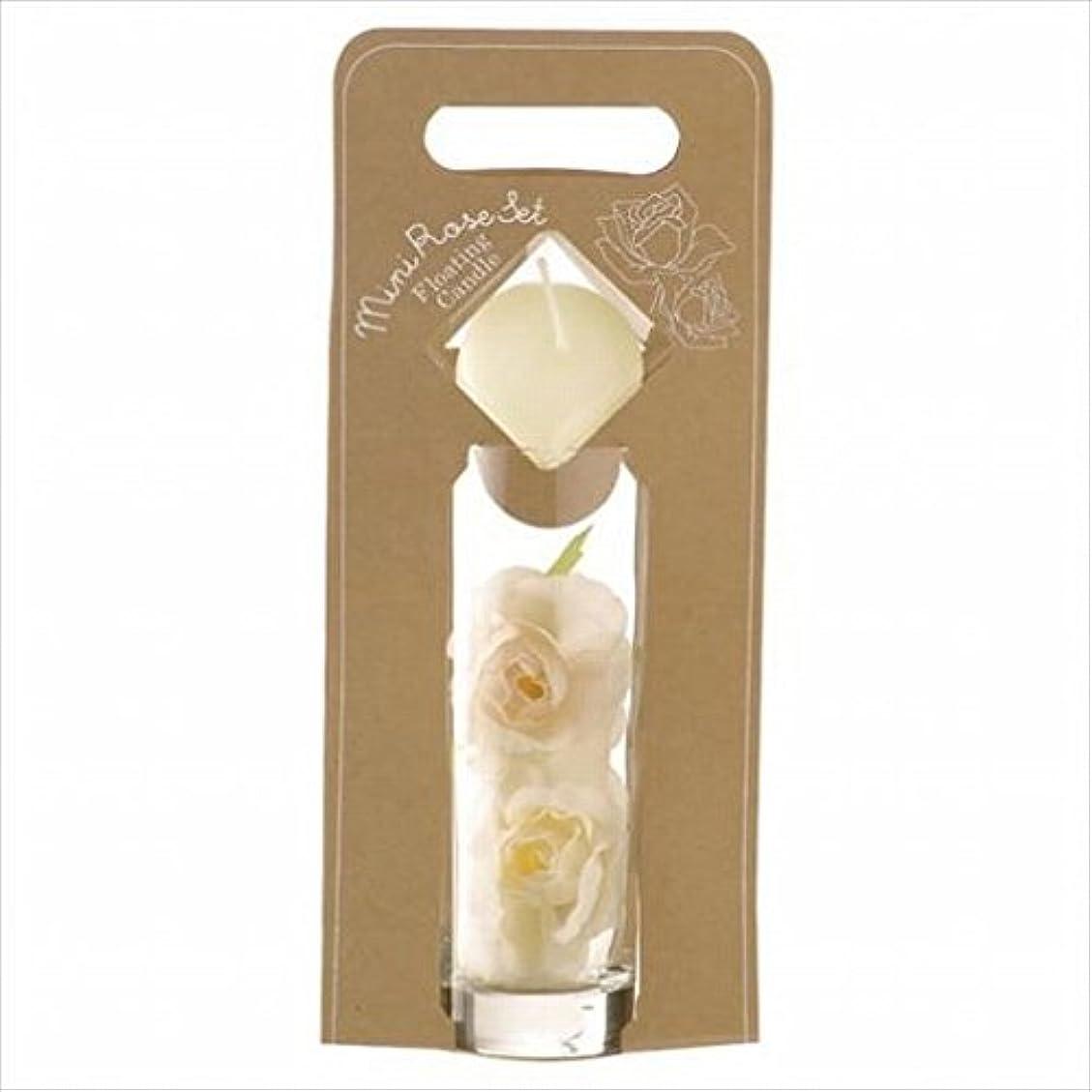 静かに振る展開するkameyama candle(カメヤマキャンドル) ミニローズセット 「 アイボリー 」(A7620005IV)