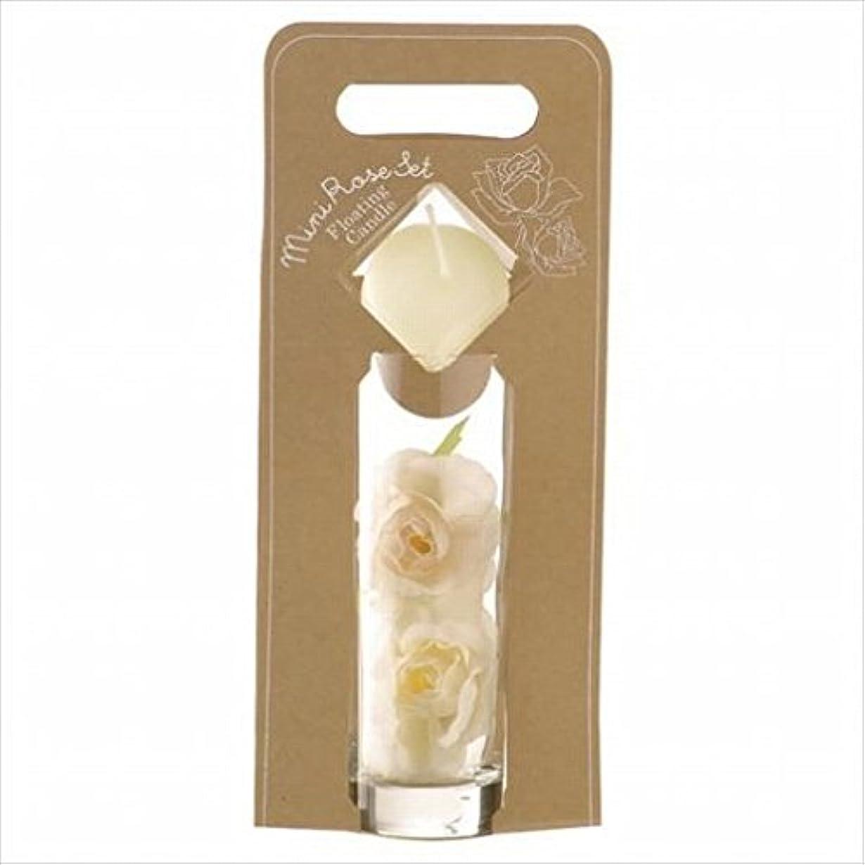 暖炉ベリシネマkameyama candle(カメヤマキャンドル) ミニローズセット 「 アイボリー 」(A7620005IV)