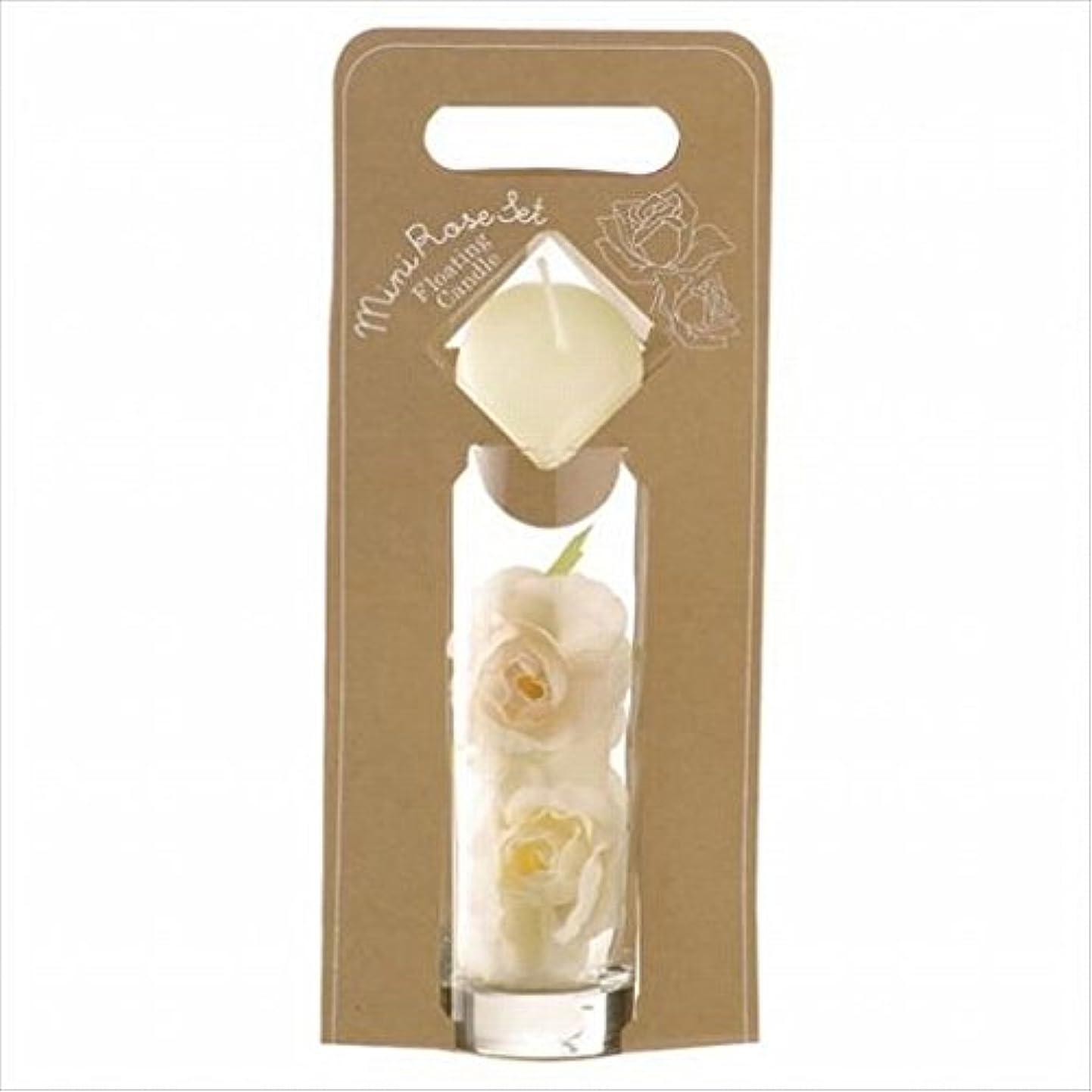 ミネラル鉛筆いっぱいkameyama candle(カメヤマキャンドル) ミニローズセット 「 アイボリー 」(A7620005IV)