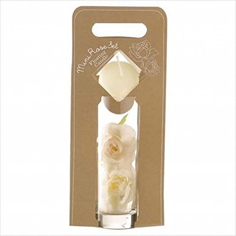 謎粘液バイナリkameyama candle(カメヤマキャンドル) ミニローズセット 「 アイボリー 」(A7620005IV)