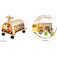 PlanToys School Bus Value Pack