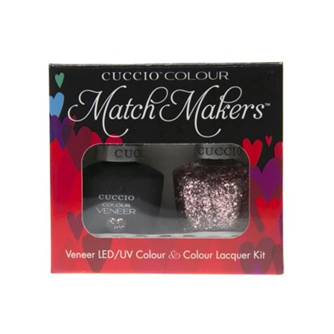 不一致岸怠なCuccio MatchMakers Veneer & Lacquer - Love Potion NO. 9 - 0.43oz / 13ml Each
