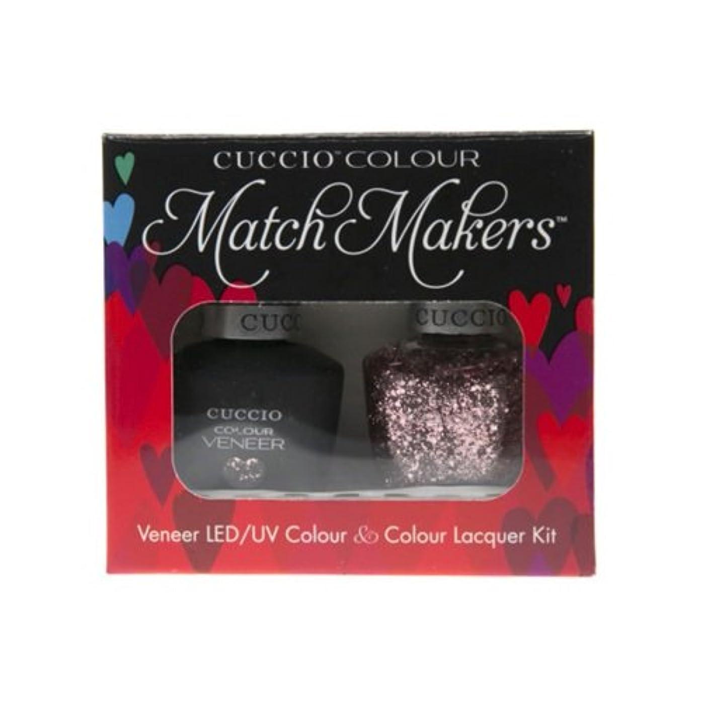 ブローホール脳有料Cuccio MatchMakers Veneer & Lacquer - Love Potion NO. 9 - 0.43oz / 13ml Each