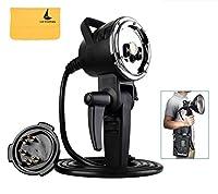 Godox AD-H600B 600W ポータブルオフカメラライト ランプ フラッシュヘッド(Bowens マウント) AD600・AD600Mに適用