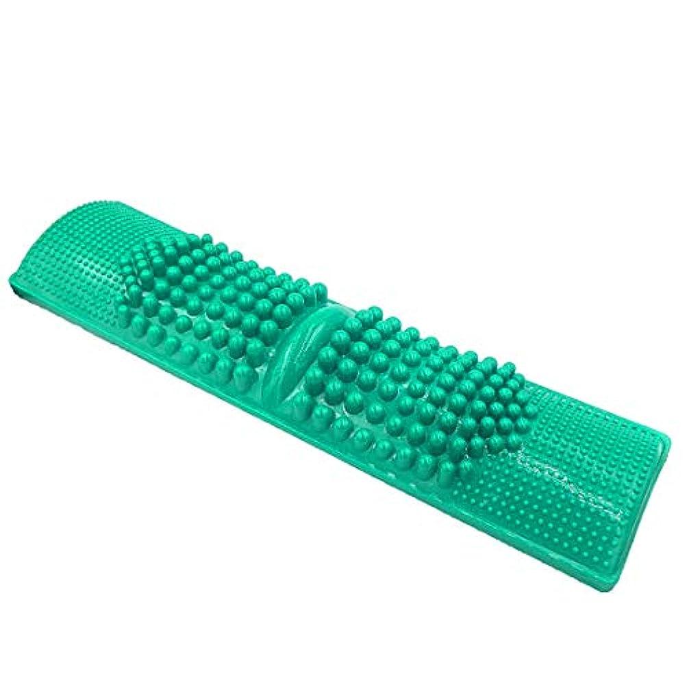 Andexi 足つぼマッサージ 足つぼマット 足つぼ 足踏み 足裏刺激 健康雑貨 サイズ:40*11cm 濃い緑