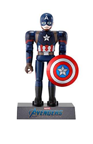 超合金HEROES アベンジャーズ キャプテン・アメリカ 約100mm ダイキャスト\u0026ABS製 塗装済み可動フィギュア