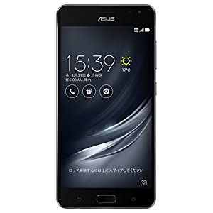 ASUS ZenFone AR SIMフリースマートフォン (ブラック/5.7インチ)【日本正規代理店品】(Snapdragon 821/8GB/128GB/3300mAh) ZS571KL-BK128S8/A