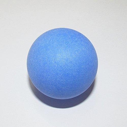 カラフルピンポン玉娯楽レジャー用無地ロゴ無し選べるカラー100個セット(青)