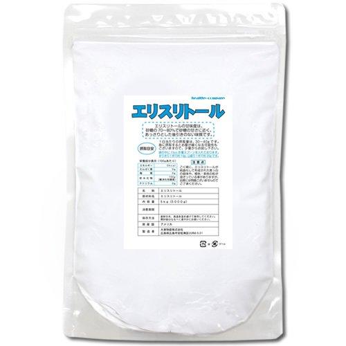 エリスリトール(erythritol)5kg【ヘルシーカンパニー】