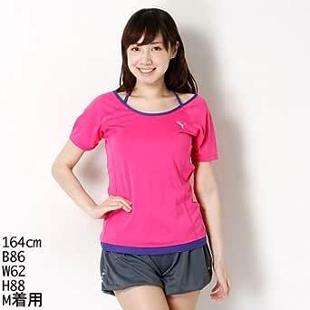 プーマ(PUMA) Tシャツ(レディースフィットネス半袖ドライUV Tシャツ)