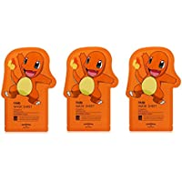 Tonymoly Pokemon Sheet Mask pack(3 Sheets) トニーモリ― ポケットモンスター マスクパック 3枚入り (FAIRI (3 Sheets))
