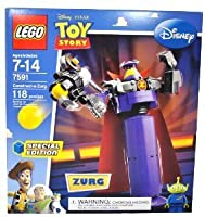 LEGO (レゴ) Special Edition Disney (ディズニー) Pixar (ピクサー) Movie Toy Storyシリーズセット# 7591–Construct - A - Zurg with Rotatingウエストと。。。ブロックおもちゃ並行輸入
