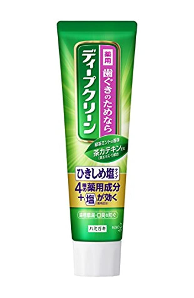 災難レモン適切なディープクリーン 薬用ハミガキ ひきしめ塩 100g