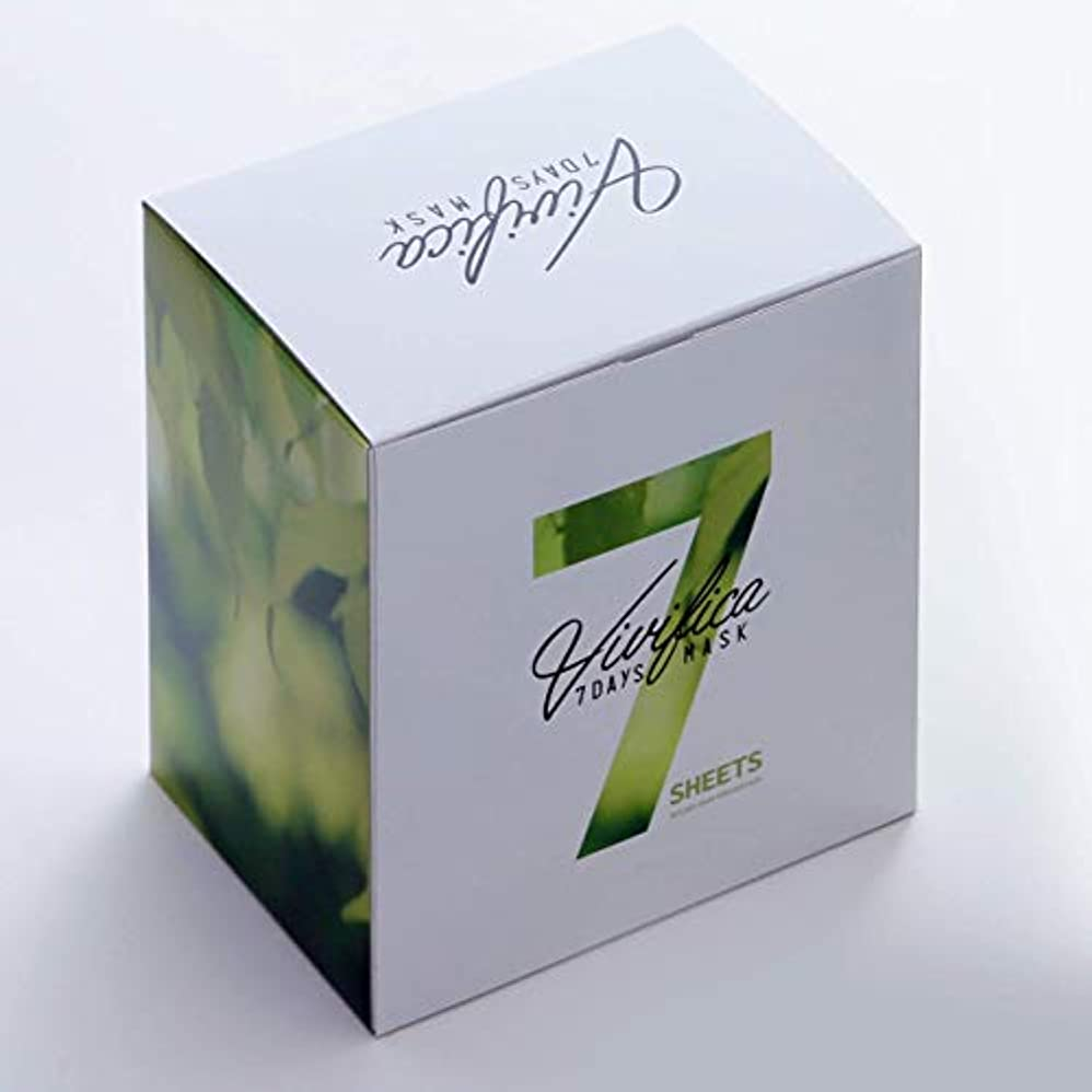 ドルマンハッタン動作Vivifica 7DAYS MASK ROUGH SKIN PREVENTION (28枚入り)