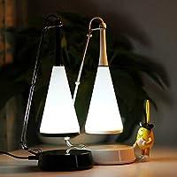 どのように シンプル 装飾用 テーブルランプ 用途 ベッドルーム 樹脂 <36V ホワイト/ブラック:ホワイト