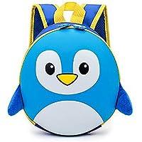 Children School Bags 3D Cartoon Hard Shell Backpack for Girls Penguin Backpacks for Boy