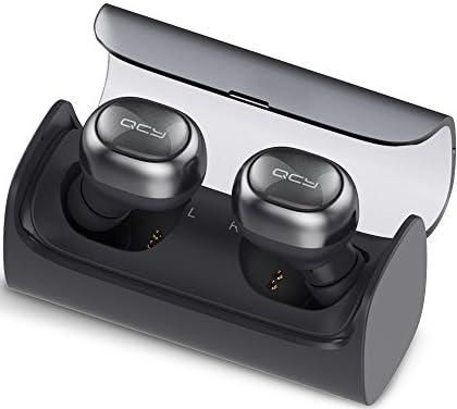 【正規代理店】QCY Q29 / イヤホン Bluetooth ワイヤレスイヤホン 左右分離型 防水 スポーツイヤホン ハンズフリーイヤホン ノイズキャンセル 【メーカー保証12カ月 (ダークグレー)