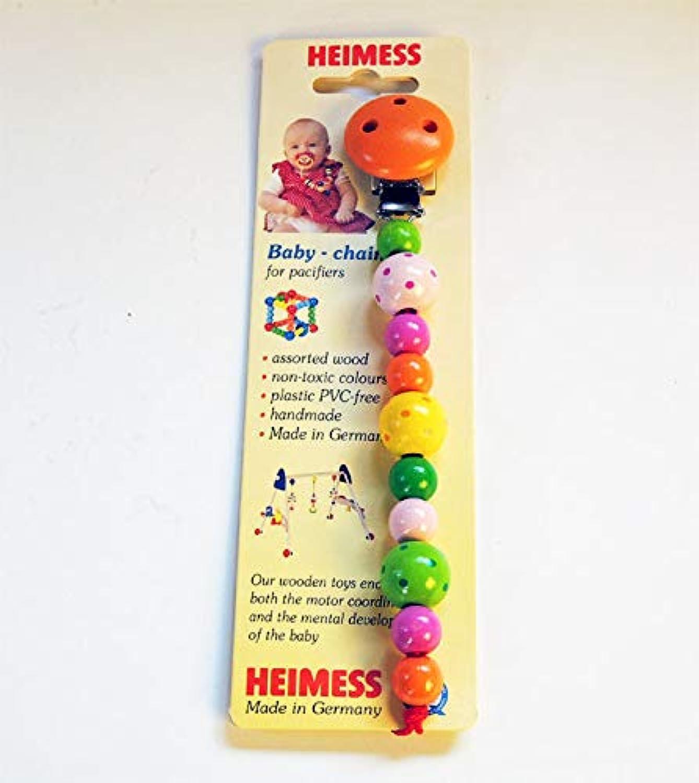 HEIMESS(ハイメス) ベビーチェーン(ストラップ付) 水玉 HM5042