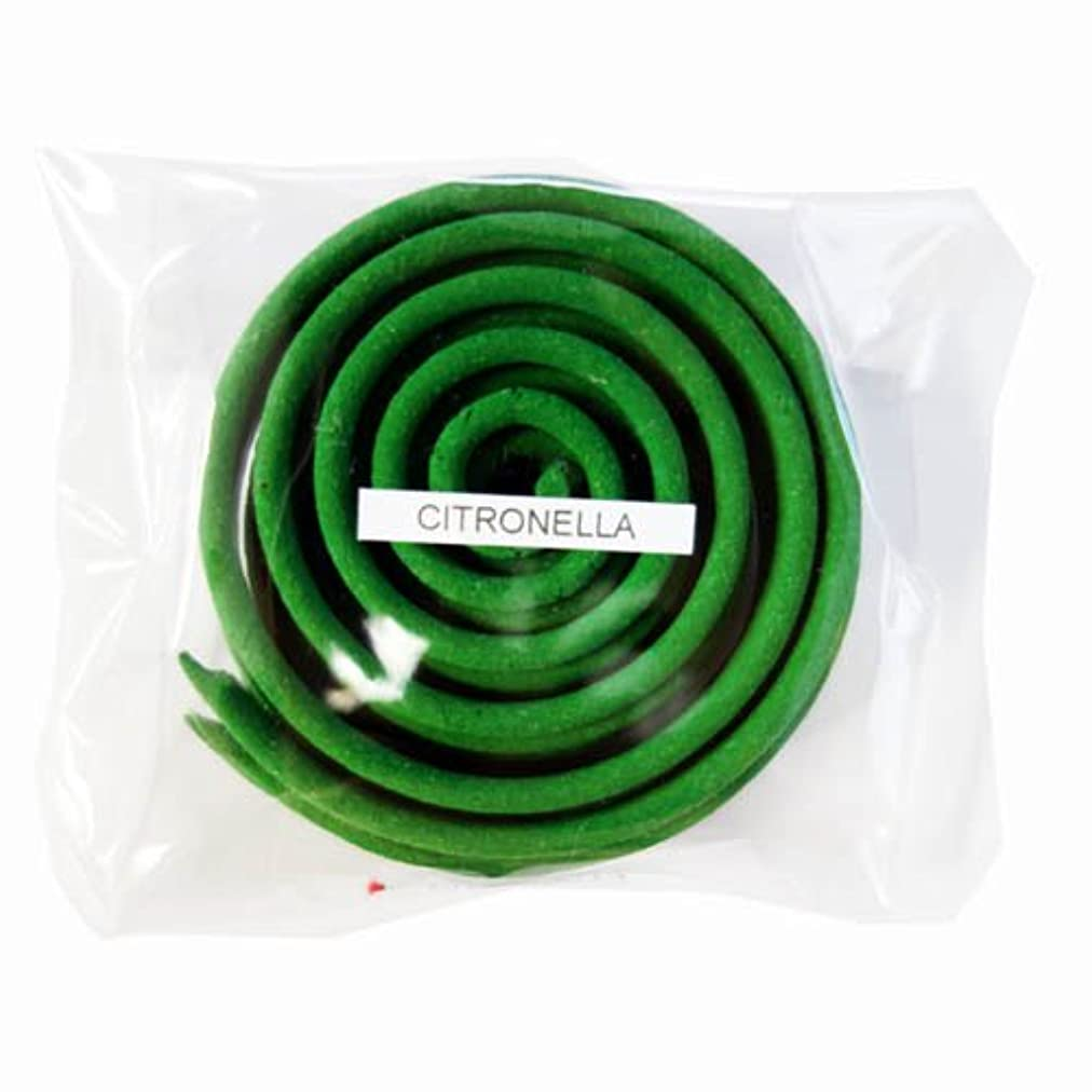 お香/うずまき香 CITRONELLA シトロネラ 直径6.5cm×5巻セット [並行輸入品]