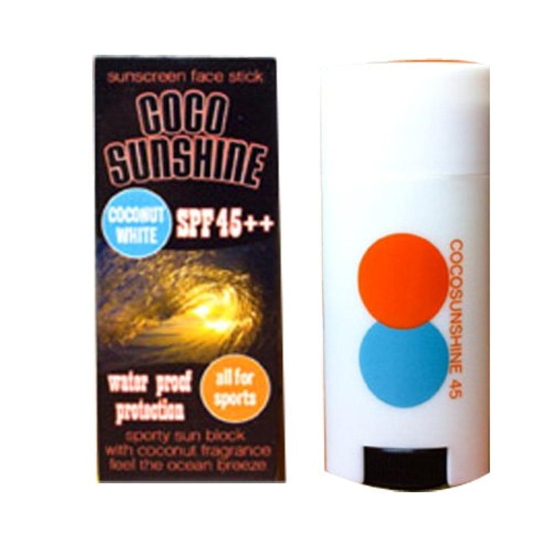 作る自動的にリンクSnipe ココサンシャイン45 日焼け止めファンデーション 20g ココナッツホワイト